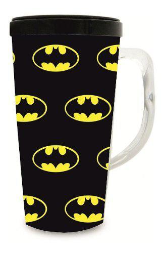Vaso taza mug plastico batman