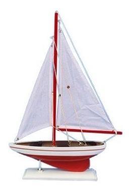 Velero hampton náutico pacific sailer, 17, rojo
