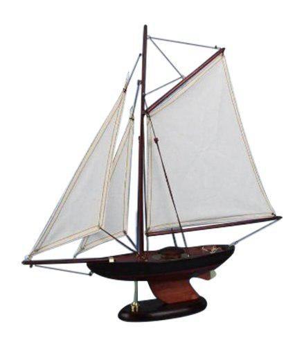 Velero náutico hampton newport sloop, 17