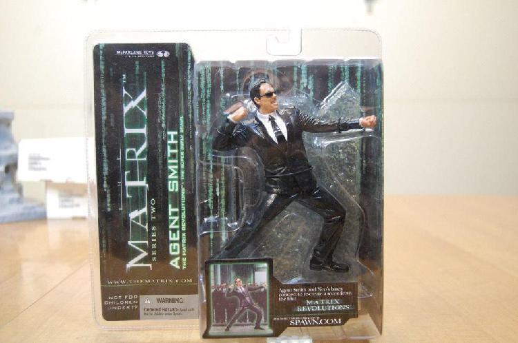 Figura de colección matrix series 2 / matrix neo vs agente