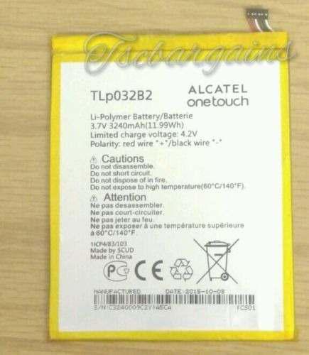 Batería de li-poly para t mobile alcatel one touch pop 7 pi