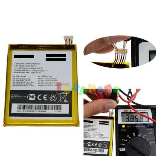 Batería tlp025a2 2500mah para alcatel one touch scribe hd o