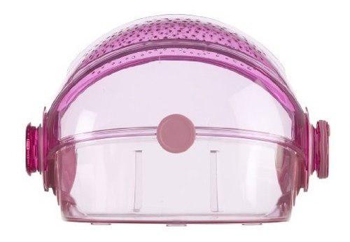 Jaula para hamster habitrail 2 puertas de bloqueo color:pink