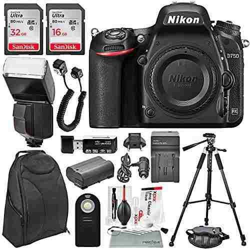 Nikon d750 cámara dslr con flash automático universal 48 g