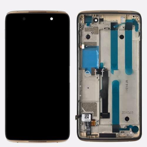 Touch dorado y display alcatel one touch idol 4 6055 6055p