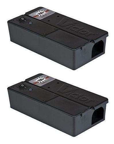 Trampa electrónica para mata ratones rata roedores 2 pack
