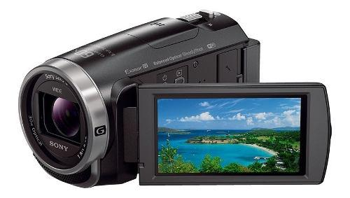 Videocámara sony handycam sensor exmor r cmos - hdr-cx675