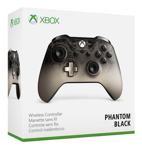 Control xbox one s phantom black. sellado + regalo: grips