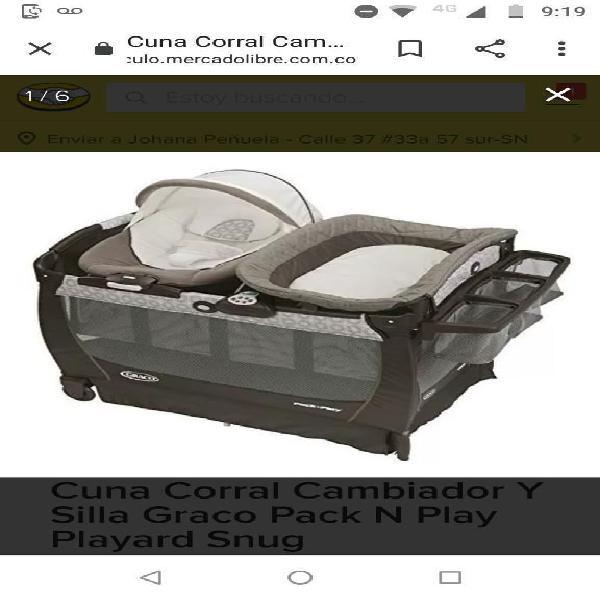 Corral graco pack n'play
