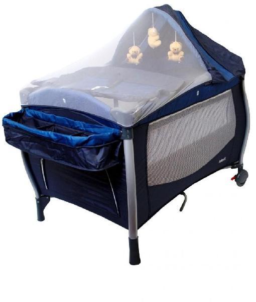 Cuna corral para bebes infanti luna azul