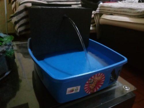 Fuente de agua para gatos y perros fabricacion nacional