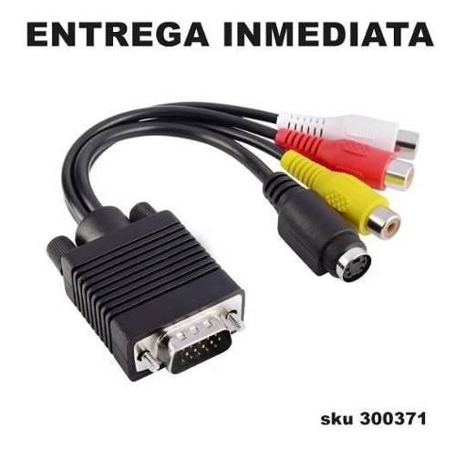 Insten 287237 vga svga a tv 3 rca av cable adaptador w01