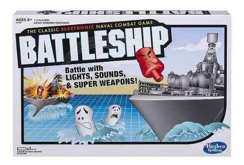Juegos de mesa electronico batalla naval battleship, hasbro
