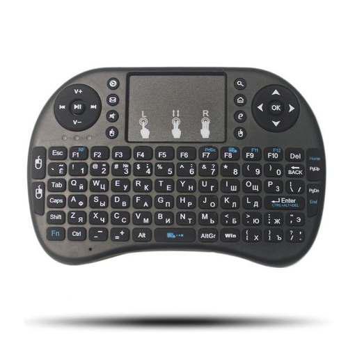 Mini teclado inalambrico mouse android smarttv tv box pc