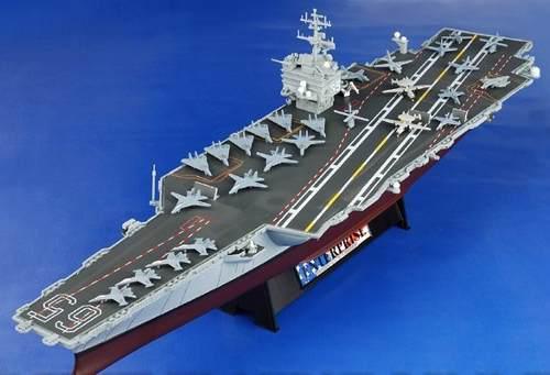 Portaaviones enterprise cvn-65 forces of valor 1:700 51cm