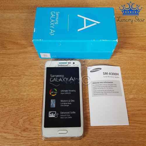 Samsung galaxy a3 blanco 10/10 perfecto estado libre + caja