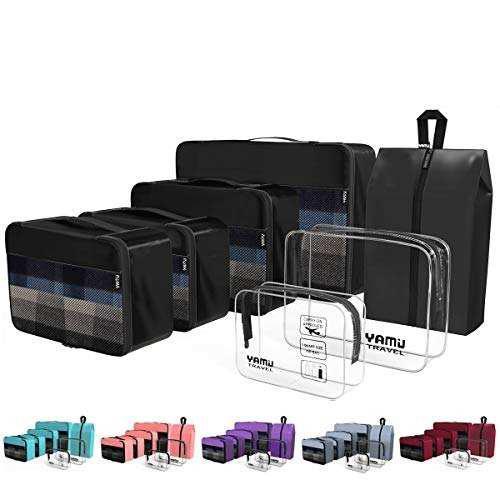 Yamiu packing cubes - accesorios para organizador de viaje