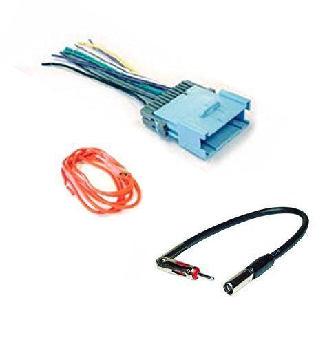 Adaptador de antena y arnés de cables de audio estéreo de