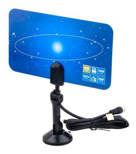 Antena para interior tv digital tdt 1 metro ganancia 5dbi