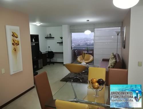Apartamento amoblado en patio bonito código 849581