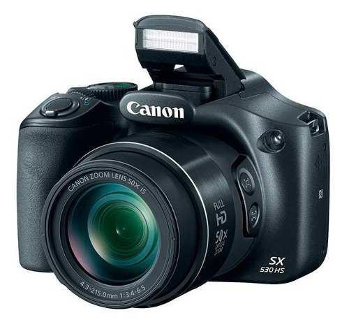 Camara digital canon sx530 hs 16mp 50x zoom wifi original