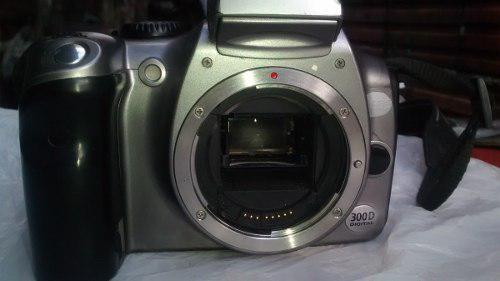 Camara profesional digital canon 300d sin lente