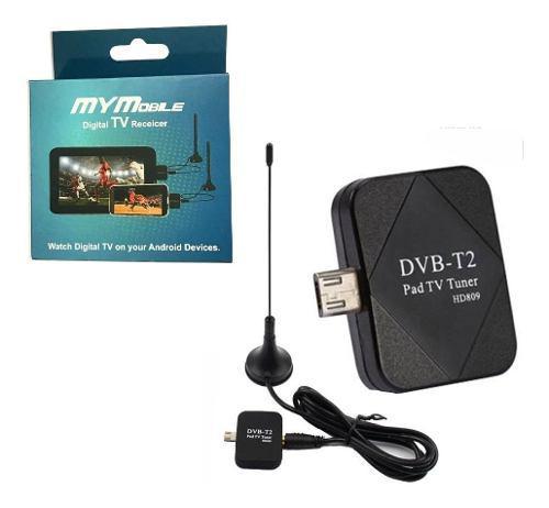 Decodificador antena receptor tdt tv celular micro usb tipoc