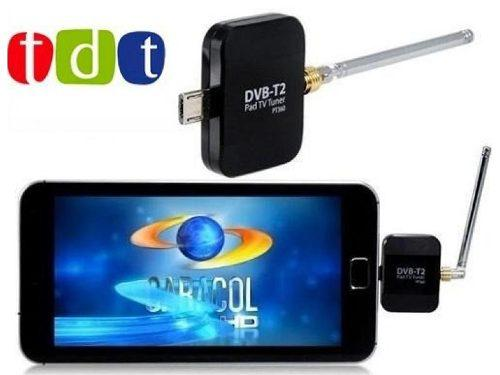 Decodificador tdt celular tablet android 3 antenas