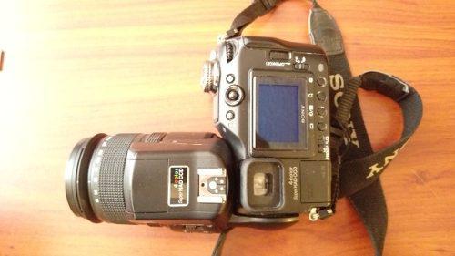 Kit sony dsc-f828 8 mp cámara digital zoom óptico de 7 x