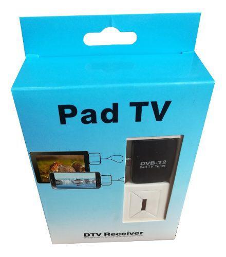 Receptor de tv digital pad tv dvbt2 teléfono móvil android