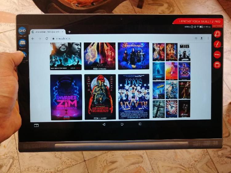 Cambio por portatil tablet lenovo con proyector