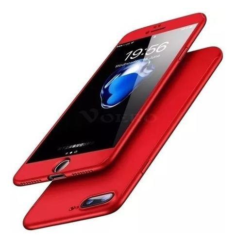 Forro Estuche Carcasa Case 360 iPhone 7, 8 Plus + Vidrio