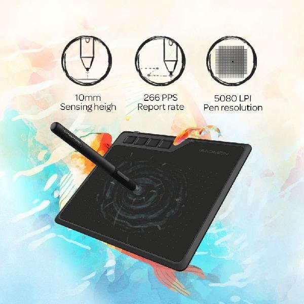 Tableta graficadora gaomon s620. funciona con moviles y