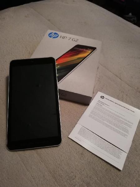 Vendo tablet hp 7 g2 en excelente estado