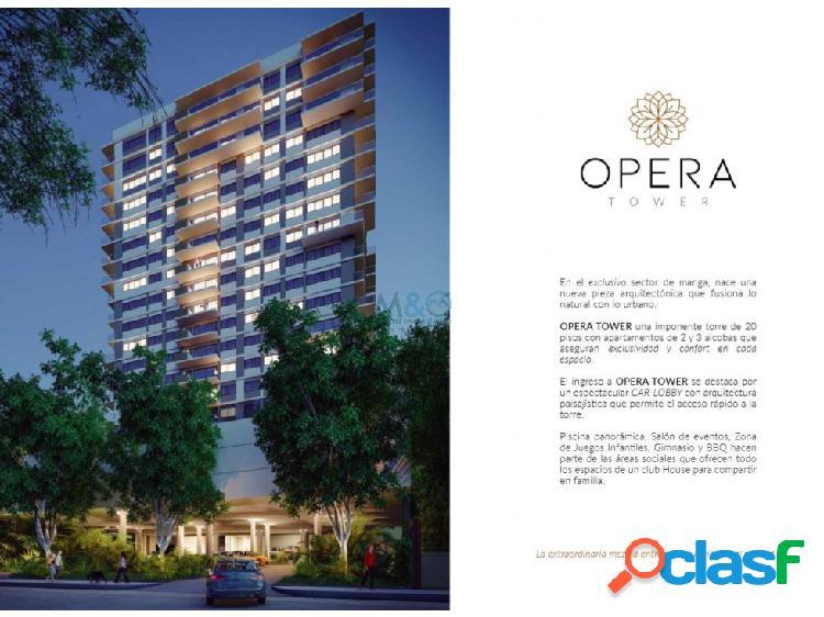Opera tower apartamentos en venta manga cartagena
