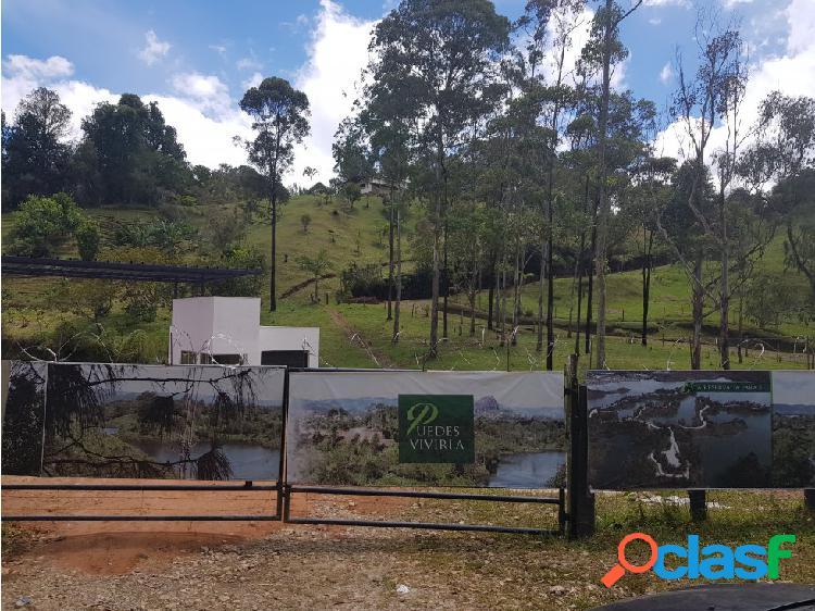 Lote en venta en guatapé - sector tierra prometida