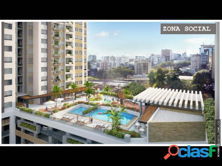 Proyecto apartamentos sector restaurante ambar