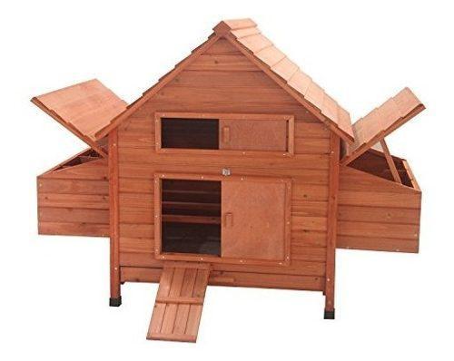 Aleko dxh001dlrd pet casa aves conejera conejos pollos galli