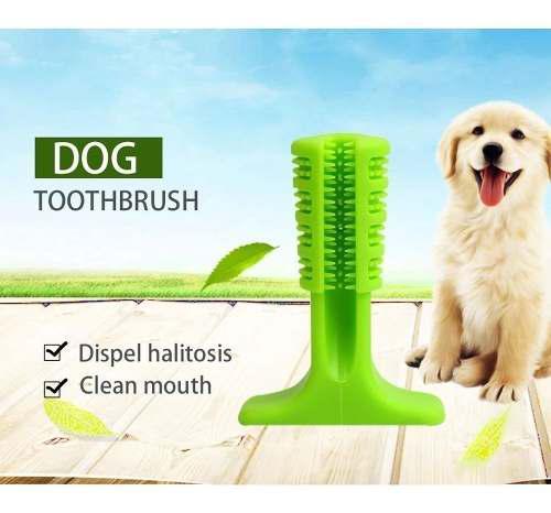 Cepillo de dientes para perro, barra de limpiar