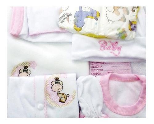 Conjunto primera muda bebé 100% algodon set envio gratis