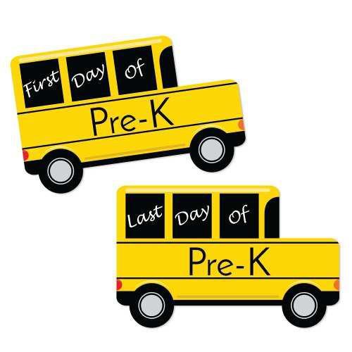 El Primer Y Último Día De Clases De Autobuses Escolare...