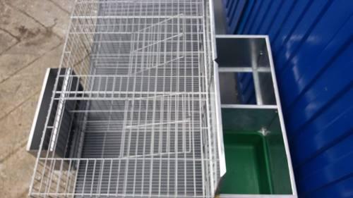 Jaulas para conejos y aves