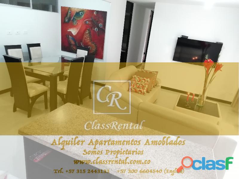 Alquiler Apartamentos Amoblados lujo Cali 1