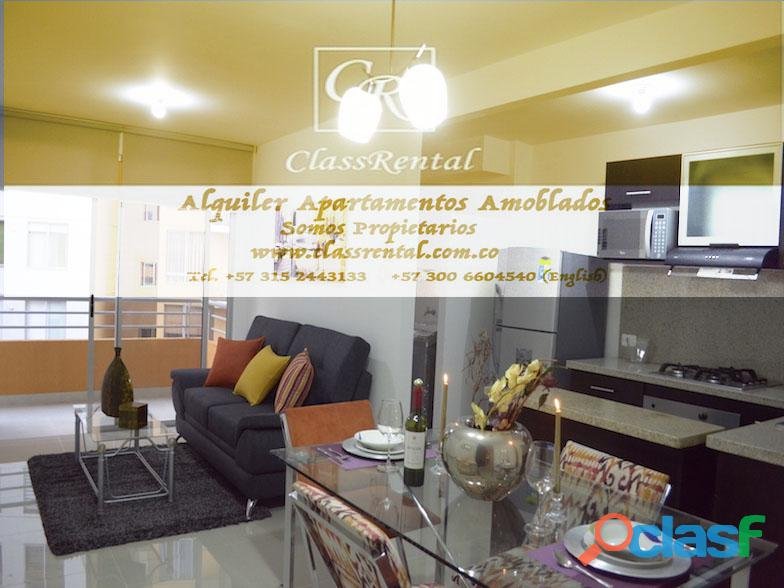Alquiler Apartamentos Amoblados lujo Cali 2