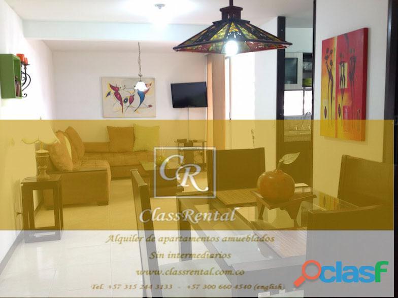 Alquiler Apartamentos Amoblados lujo Cali 3