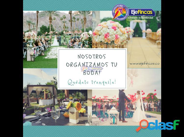 Servicio de eventos sociales y empresariales