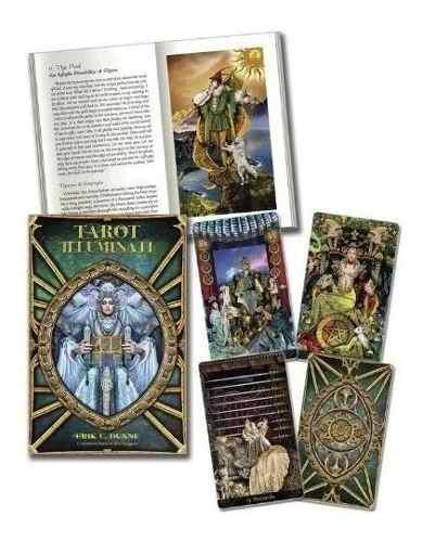 Cartas de tarot iluminati- cartas y libro despacho ya
