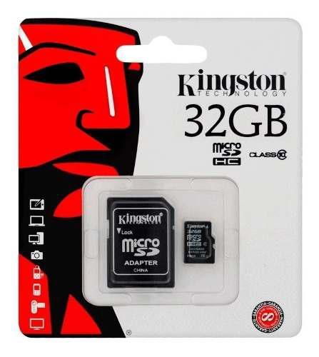 Memoria micro sd kingston 32gb clase 10 533x sutiendaonline