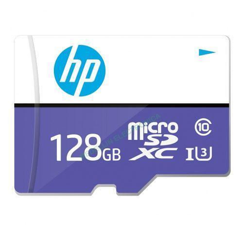 Tarjeta memoria 128gb micro sd xc hp original u3 original 4k