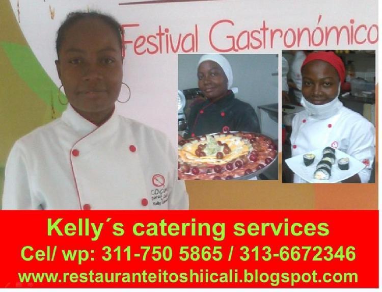 Servicios gastronómicos y logística de eventos sociales y